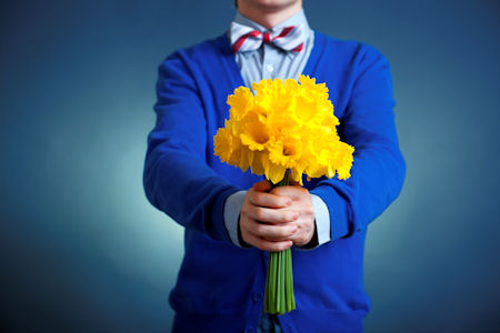 Give flowers: Being Loving Can Lead to More Sex